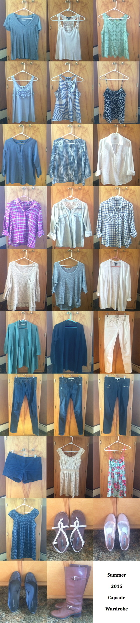 Summer 2015 Capsule Wardrobe | Glitter & Grace Blog