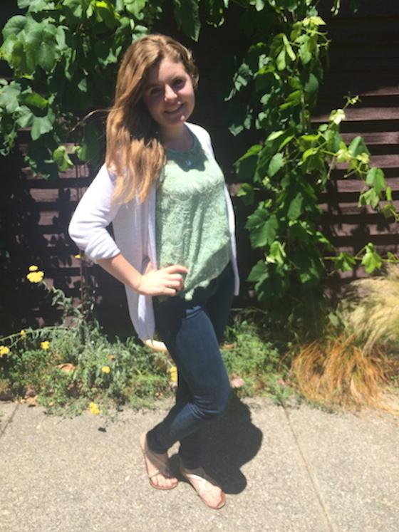 Summer 2015 Capsule Wardrobe: Outfit 1 | Glitter & Grace Blog