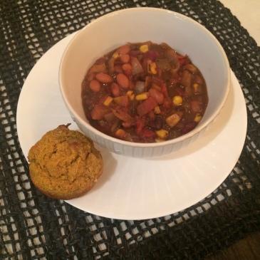 Vegan Squash Chili + recipe | Glitter & Grace Blog