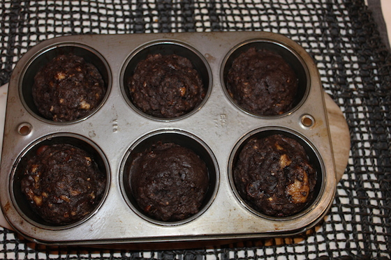 Chocolate Banana Muffins + recipe | Glitter & Grace Blog #chocolate #banana