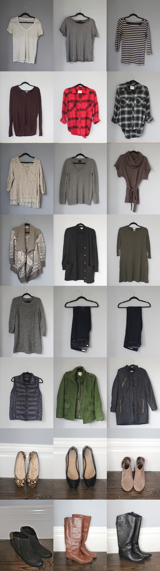 My Winter 2015 Capsule Wardrobe | Glitter & Grace Blog #capsule #minimalism #capsulewardrobe