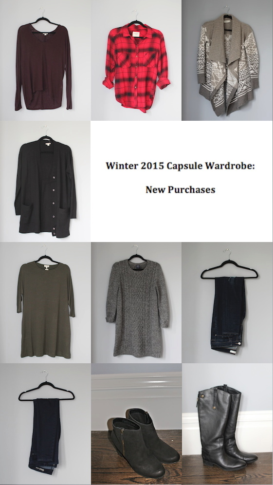 Winter 2015 Capsule Wardrobe: New Purchases | Glitter & Grace Blog #capsule #minimalism #capsulewardrobe