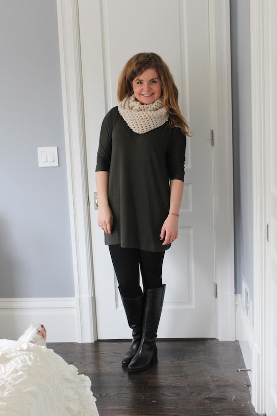 Winter 2015 Capsule Wardrobe: Outfit 1 | Glitter & Grace Blog #capsule #minimalism #capsulewardrobe