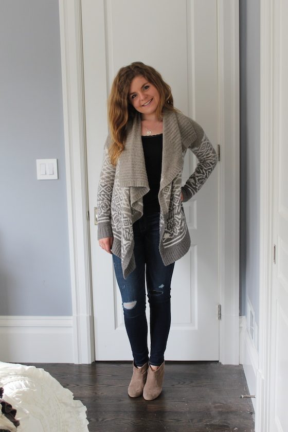 Winter 2015 Capsule Wardrobe: Outfit 2 | Glitter & Grace Blog #capsule #minimalism #capsulewardrobe