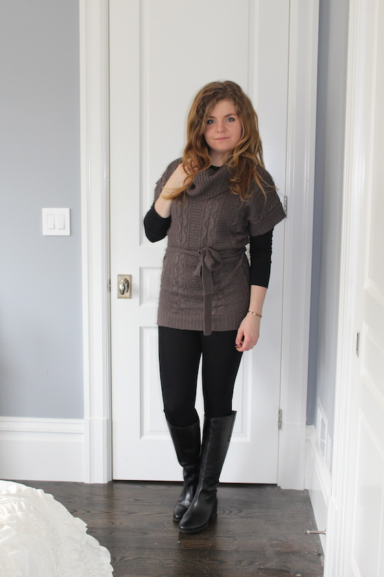 Winter 2015 Capsule Wardrobe: Outfit 3 | Glitter & Grace Blog #capsule #minimalism #capsulewardrobe