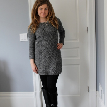 Winter 2015 Capsule Wardrobe: Outfit 5