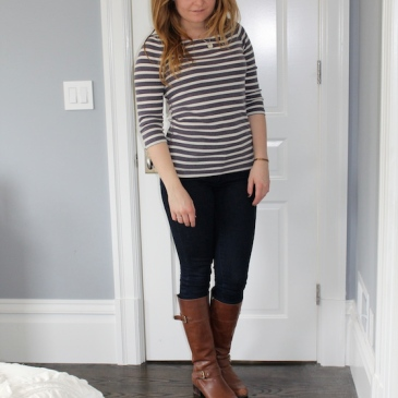 Winter 2015 Capsule Wardrobe: Outfit 8