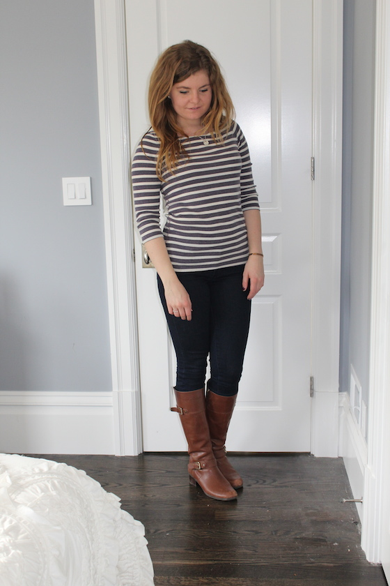 Winter 2015 Capsule Wardrobe: Outfit 8 | Glitter & Grace Blog