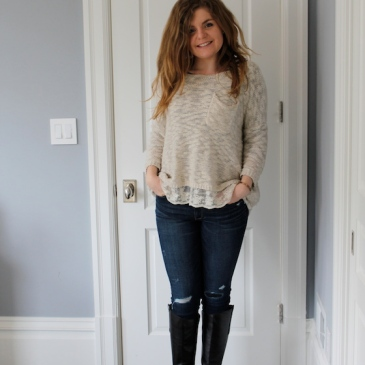 Winter 2015 Capsule Wardrobe: Outfit 9