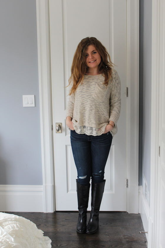 Winter 2015 Capsule Wardrobe: Outfit 9 | Glitter & Grace Blog