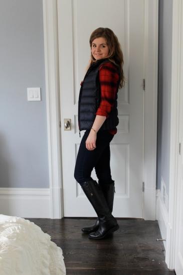 Winter 2015 Capsule Wardrobe: Outfit 20 | Glitter & Grace Blog #capsule #minimalism #capsulewardrobe