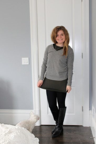 Winter 2015 Capsule Wardrobe: Outfit 24 | Glitter & Grace Blog #capsule #minimalism #capsulewardrobe