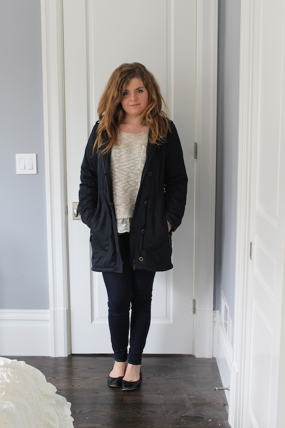 Winter 2015 Capsule Wardrobe: Outfit 26 | Glitter & Grace Blog #capsule #minimalism #capsulewardrobe