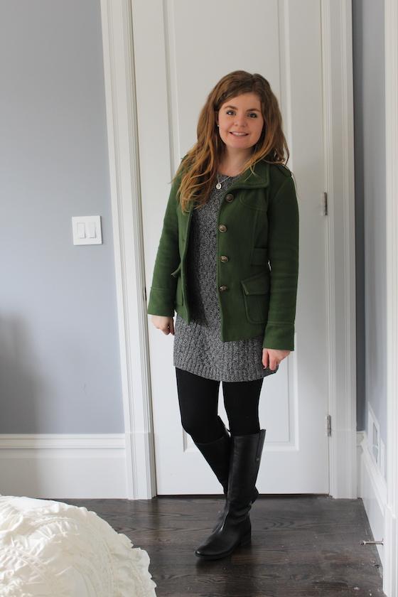 Winter 2015 Capsule Wardrobe: Outfit 29 | Glitter & Grace Blog #capsule #minimalism #capsulewardrobe
