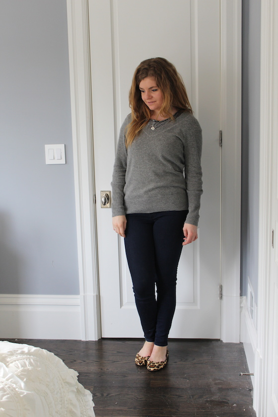 Winter 2015 Capsule Wardrobe: Outfit 12 | Glitter & Grace Blog