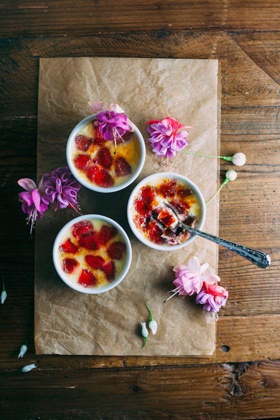Strawberry Creme Brûlée from Hummingbird High | Glitter & Grace Blog