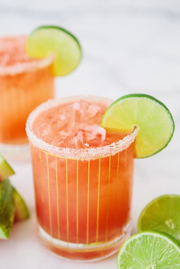 Watermelon Coconut Refresher from A House in the Hills