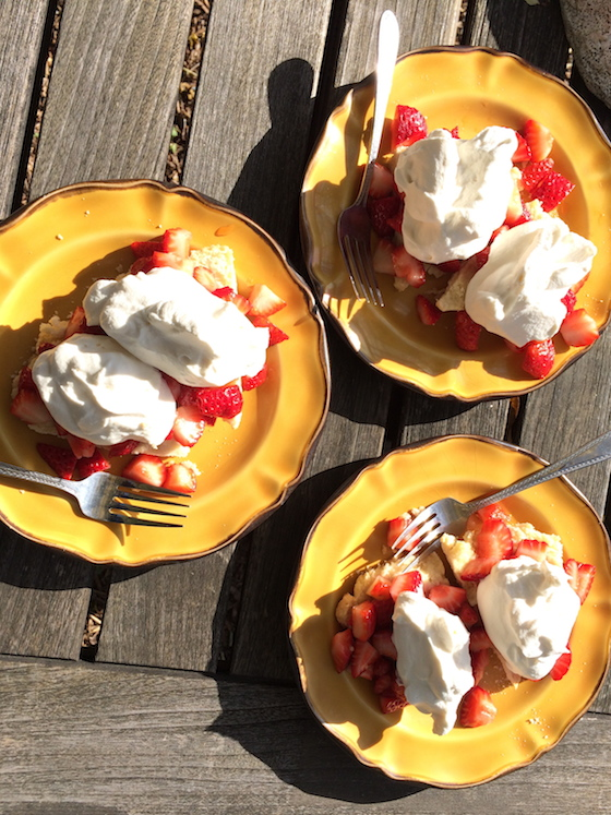 Strawberry Shortcake from Glitter & Grace
