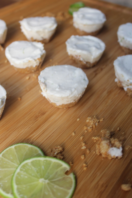 Lime Cheesecake Bites + recipe | Glitter & Grace Blog #summerrecipe #lime #nobake #cheesecake