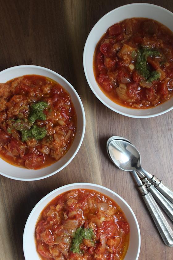 Pappa al Pomodoro + recipe | Glitter & Grace Blog #italian #tomato #soup