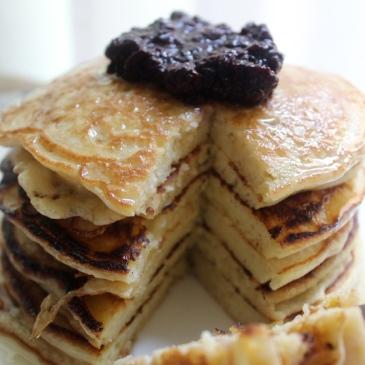 Ricotta Pancakes + recipe | Glitter & Grace Blog #ricotta #brunchrecipe